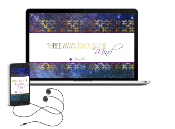 3 WAYS TO CALM THE MIND