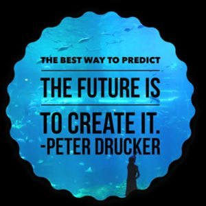 Predict the future, create it