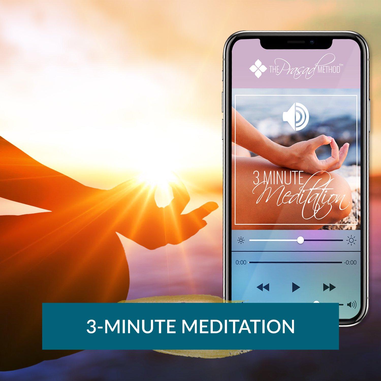Dr Asha Prasad 3 Minute Meditation